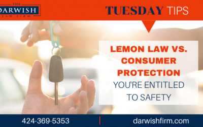 TUESDAY TIPS: Lemon Law vs. Consumer Protection