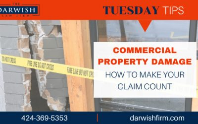 TUESDAY TIPS: Navigating Commercial Property Damage