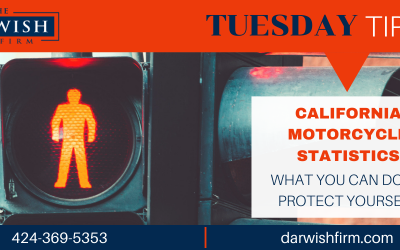 Tuesday Tips: CA Pedestrian Accident Statistics