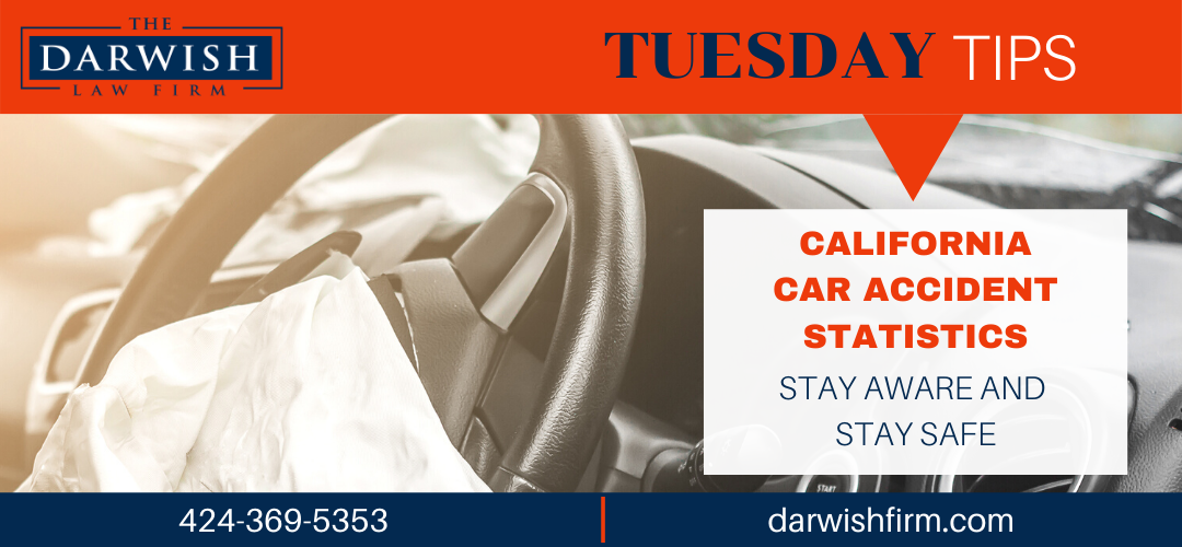 Tuesday Tips: CA Car Accident Stats