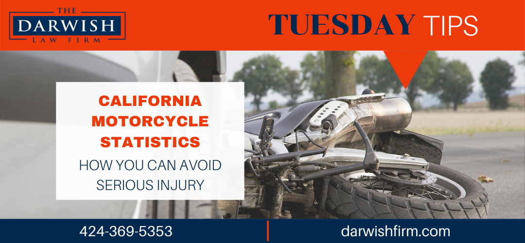 Tuesday Tips: CA Motorcycle Accident Stats